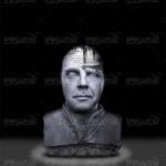 فیلم آموزش فتوشاپ فارسی تبدیل عکس پرتره به مجسمه سنگی قدیمی