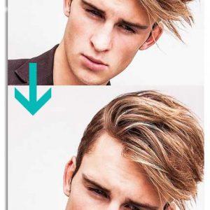 آرایش مو در فتوشاپ