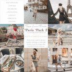 پریست های رنگ حرفه ای لایت روم سبک پاریس Sarah Loven Paris Pack 2