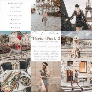 پریست های رنگ حرفه ای لایت روم سبک پاریس