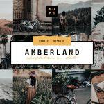 دانلود پریست های حرفه ای لایت روم امبرلند Amberland Edition Lightroom Preset