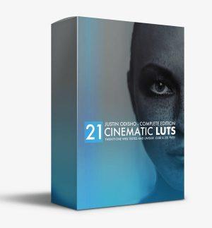 خرید پک لات های رنگی سینمایی Justin Odisho Cinematic LUTs Pack